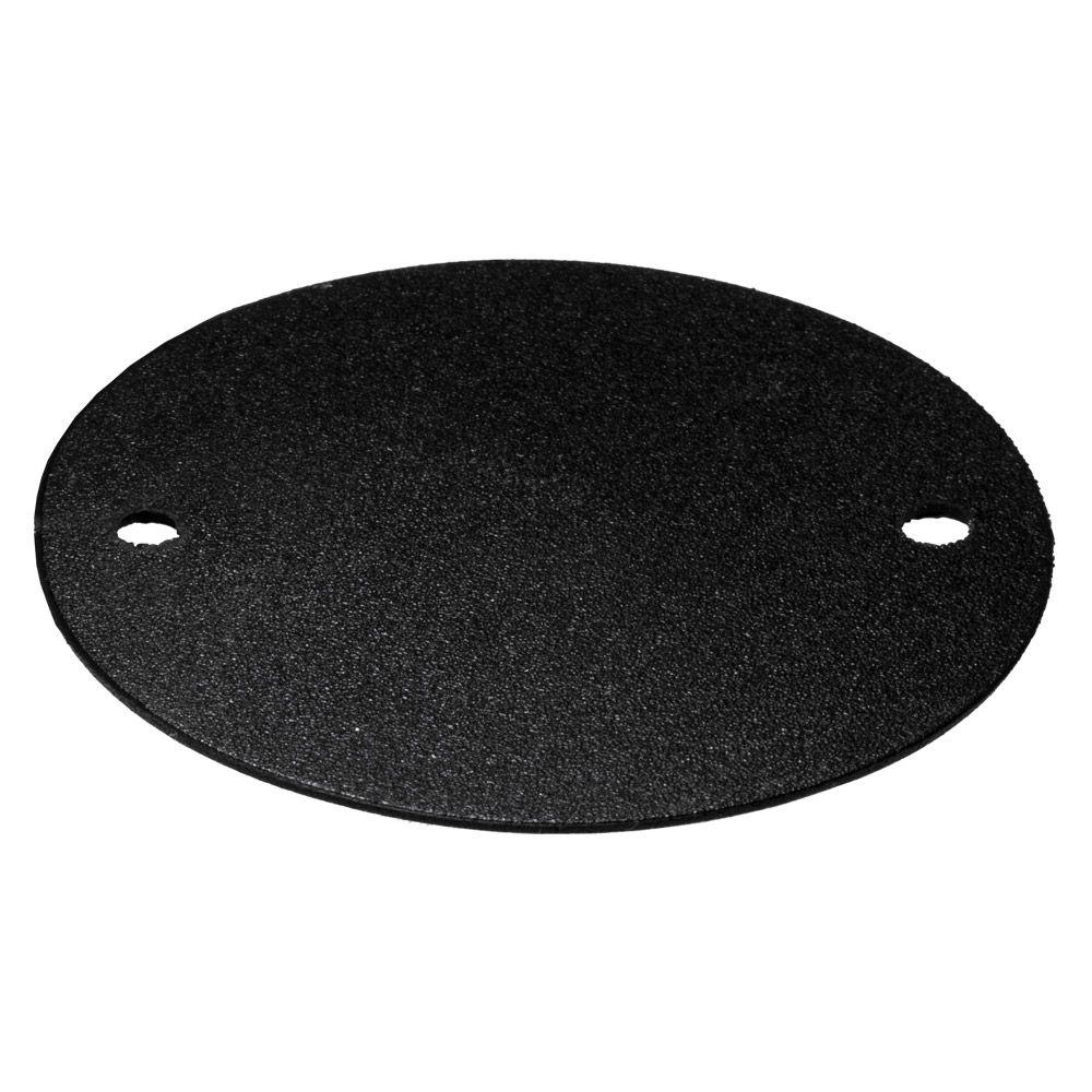 Rubber Gasket IP44 for a Metal Conduit Box Black Each