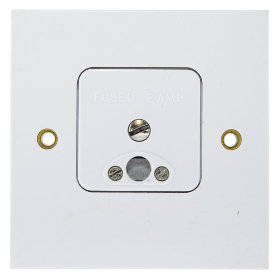 Image of MK Logic 995WHI Clock Connector 2A Fused