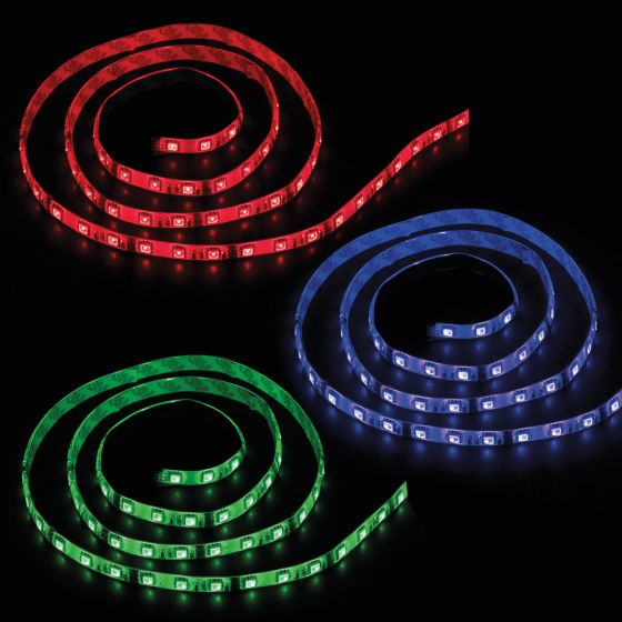 Image of Ansell AADLED100RGB RGB LED Tape 100mm 0.7W