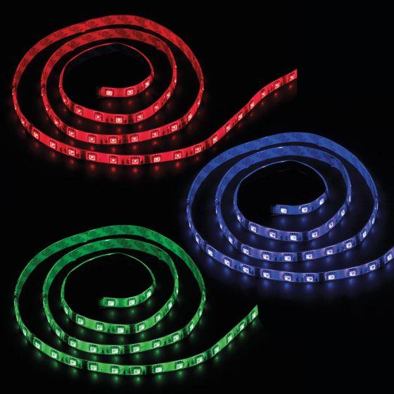 Image of Ansell AADLED300RGB RGB LED Tape 300mm 2W