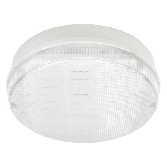 Image of Avenger LED Round Bulkhead 296mm 1600lm 15W 4000K IP65 White Clear