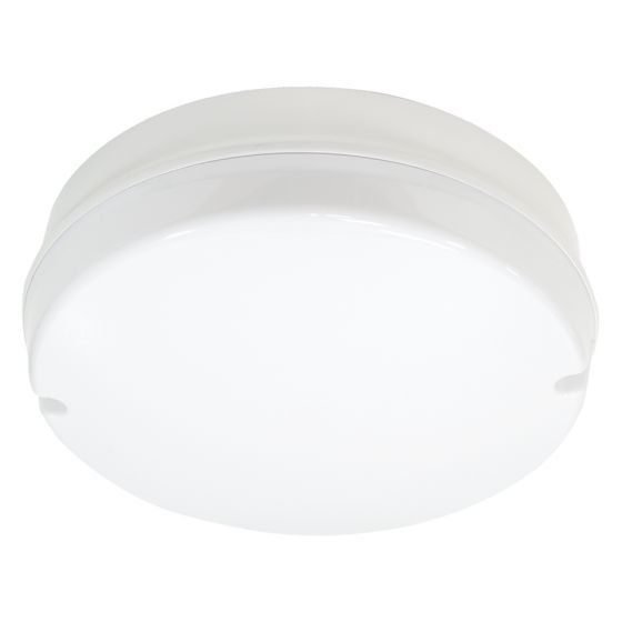 Image of Avenger LED Round Bulkhead 296mm 760lm 10W 4000K IP65 White Opal