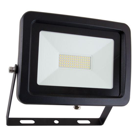 Image of Avenue Commercial LED Floodlight 4577lm 50W 5200K IP65 Black