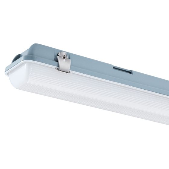 Image of Avenger LED 4ft Twin Weatherproof with Microwave 4300lm 37W 4000K IP65
