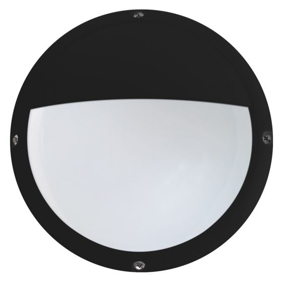 Image of Avenger Outdoor LED Mini Eyelid Bulkhead 330lm 6W 4200K Black Opal IP66