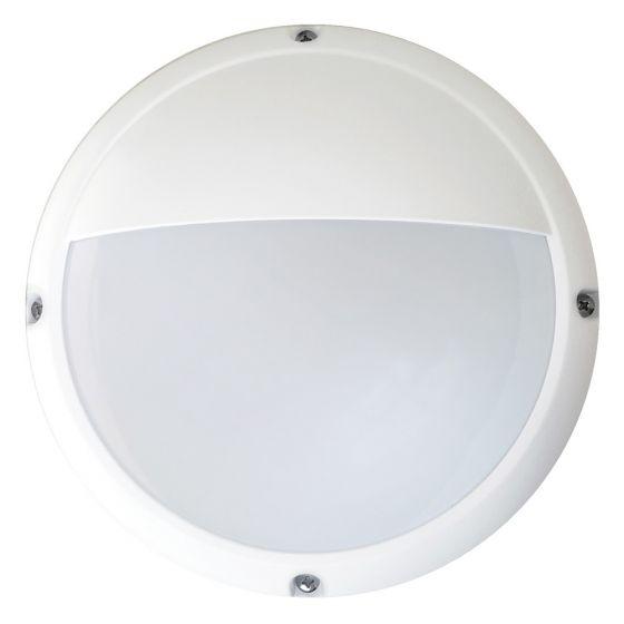 Image of Avenger Outdoor LED Mini Eyelid Bulkhead 330lm 6W 4200K White Opal IP66