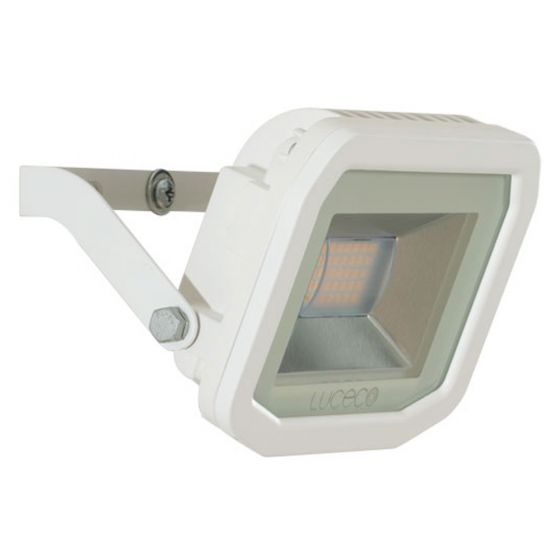 Image of Avenger Outdoor LED Slim Floodlight 1200lm 15W 3000K White IP65