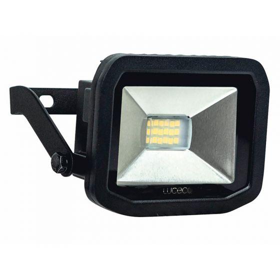 Image of Avenger Outdoor LED Slim Floodlight 600lm 8W 5000K Black IP44