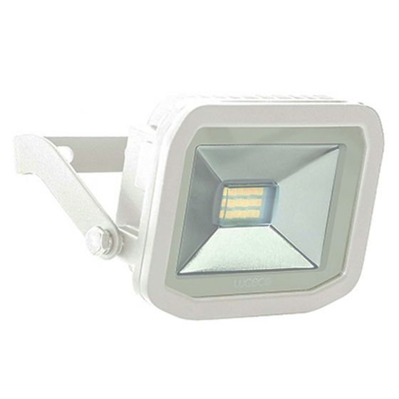 Image of Avenger Outdoor LED Slim Floodlight 600lm 8W 5000K White IP65
