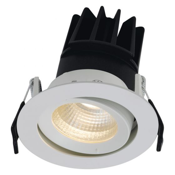 Image of Ansell AULED80D LED Tilt Downlight 13W 4000K IP20 White