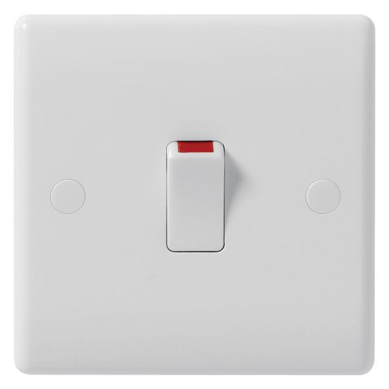 Image of Avenue Contour 20A Switch Double Pole White