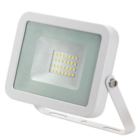 Image of Avenger LED Floodlight 20W 4000K IP65 White Outdoor