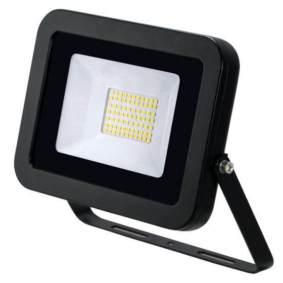Image of Avenger LED Floodlight 50W 4000K IP65 Black Outdoor