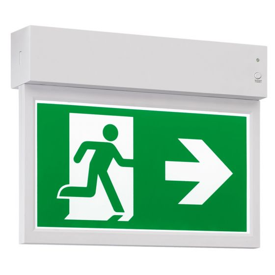 Avenger AGELXSN LED Emergency Exit Sign Maintained IP20