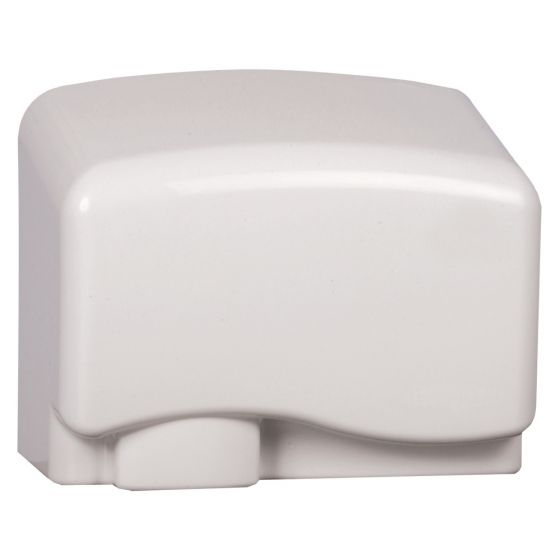 Image of Avenue 1.5kW Economy Hand Dryer Automatic Controls White Polycarbonate