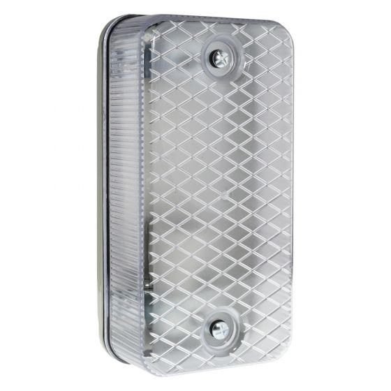 Image of Niglon BHG100 Outdoor Bulkhead BC (B22) Grey Plastic Prismatic IP65