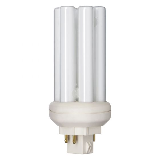 Image of PL-T 18W 4 Pin Cool White 4000K 840 Compact Fluorescent Six Tube Lamp