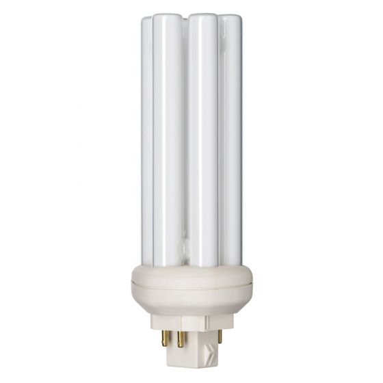 Image of PL-T 42W 4 Pin Cool White 4000K 840 Compact Fluorescent Six Tube Lamp