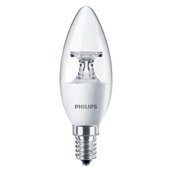 Image of Philips 45483100 5.5W CorePro SES E14 Candle Bulb Warm White 2700K