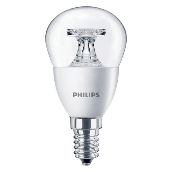 Image of Philips 45483100 5.5W CorePro SES E14 Golf Ball Bulb Warm White 2700K