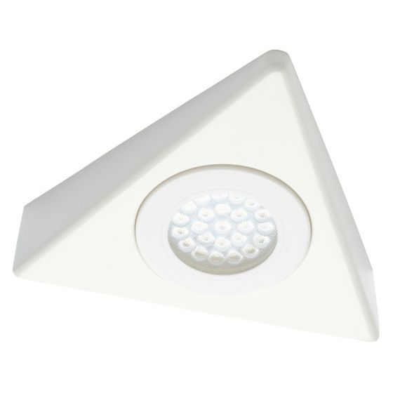 Image of Forum Culina LED Triangle Under Cabinet Light 140lm 1.5W 4000K White