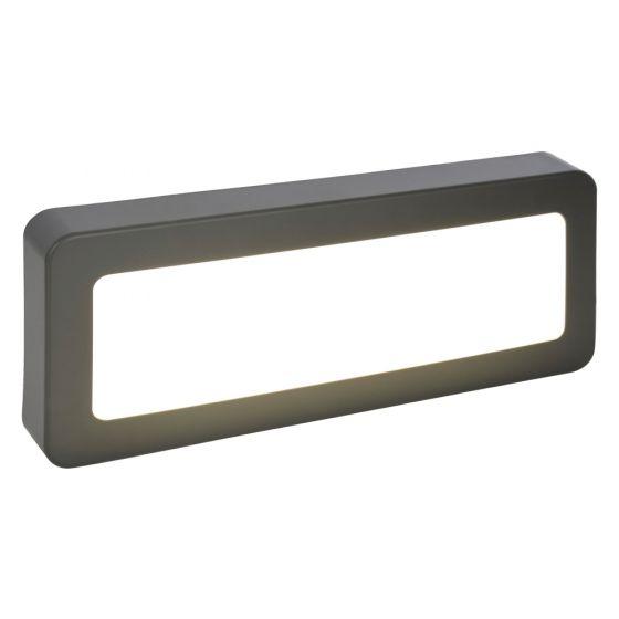 Image of Forum Coast LED Surface Bricklight 450lm 5W 4000K Black