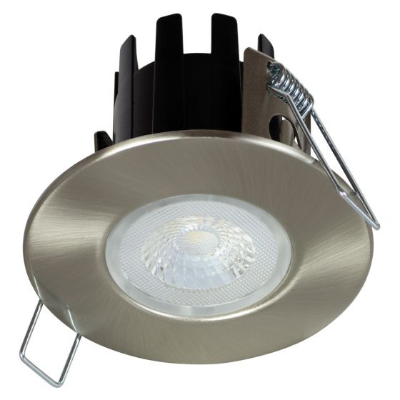 Image of Halers DLT388BS/5530 LED Downlight Satin Dimmable 4W 440lm 3000K IP65