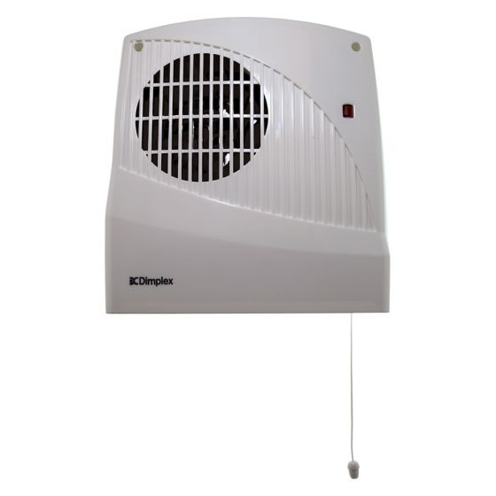 Image of Dimplex FX20VE Bathroom Downflow Fan Heater Pullcord and Timer