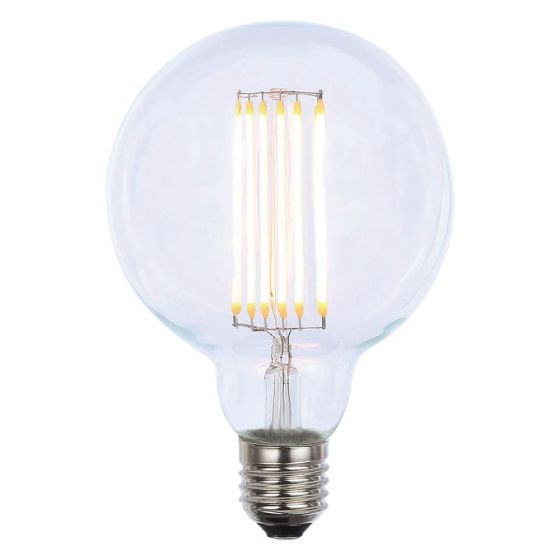 Image of INLIGHT 4W Dimmable G95 ES LED Vintage Globe Filament Bulb Warm 2200K