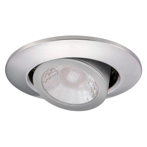 Image of JCC JC1002BN V50 LED Tilt Downlight Nickel Dimmable 7W 3000K 4000K IP20