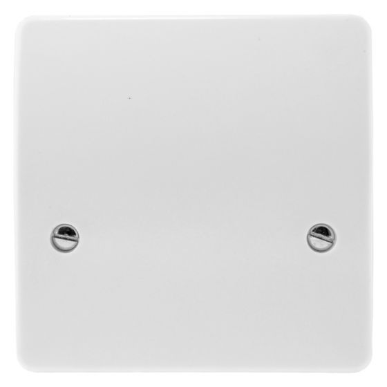 Image of MK Logic K5045WHI Cooker Cable Flex Outlet Plate 45A White