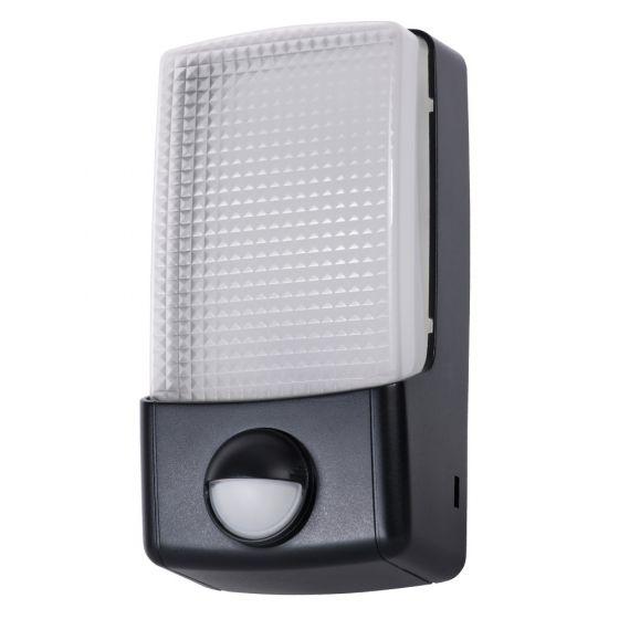 Image of Timeguard LED88PIR Outdoor LED Bulkhead and PIR 310lm 5W 5000K Black IP55