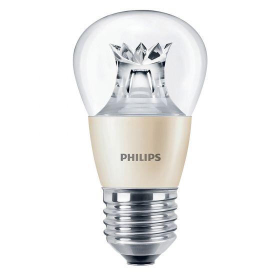 Image of Philips 45358200 6W MasterLED Dimtone SES E14 Golf Ball Bulb Warm White