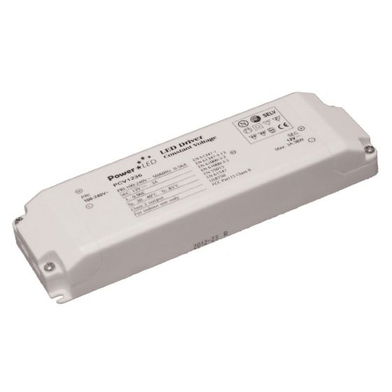 Image of PowerLED LED Driver 36W 12V DC IP20