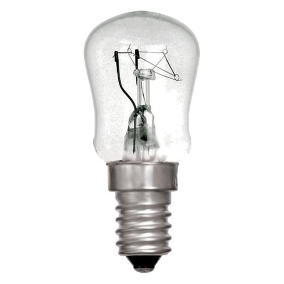 Image of 15W SES Incandescent Pygmy Appliance Lamp 2700K Bulb White