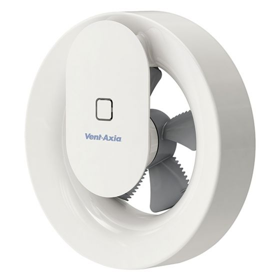 Image of Vent Axia SVARA 4 Inch Smart Continuous Extractor Fan Humidistat 409802