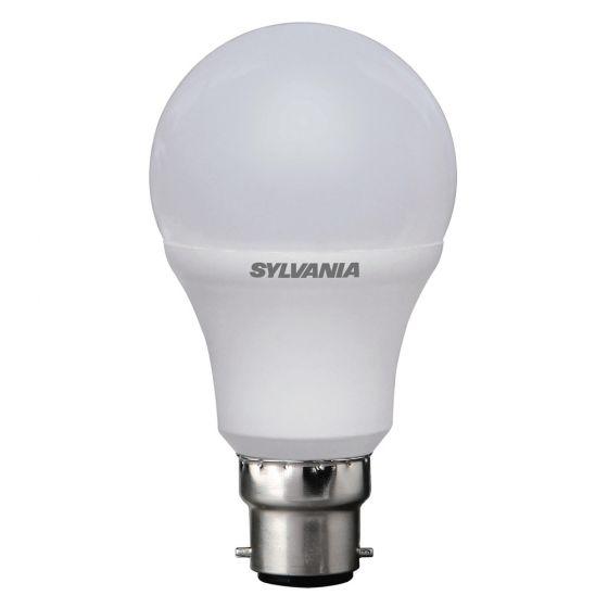 Image of Sylvania 5.5W BC (B22) LED GLS Light Bulb Warm White