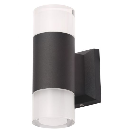 Image of Forum LED RGB Colour Changing Outdoor Wall Light with Remote Up and Down