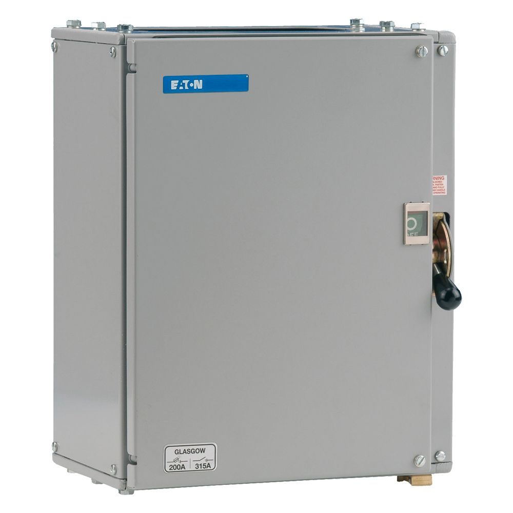 Eaton MEM Glasgow 203GNC Fuse Switch Disconnector 200A TPN Metal on
