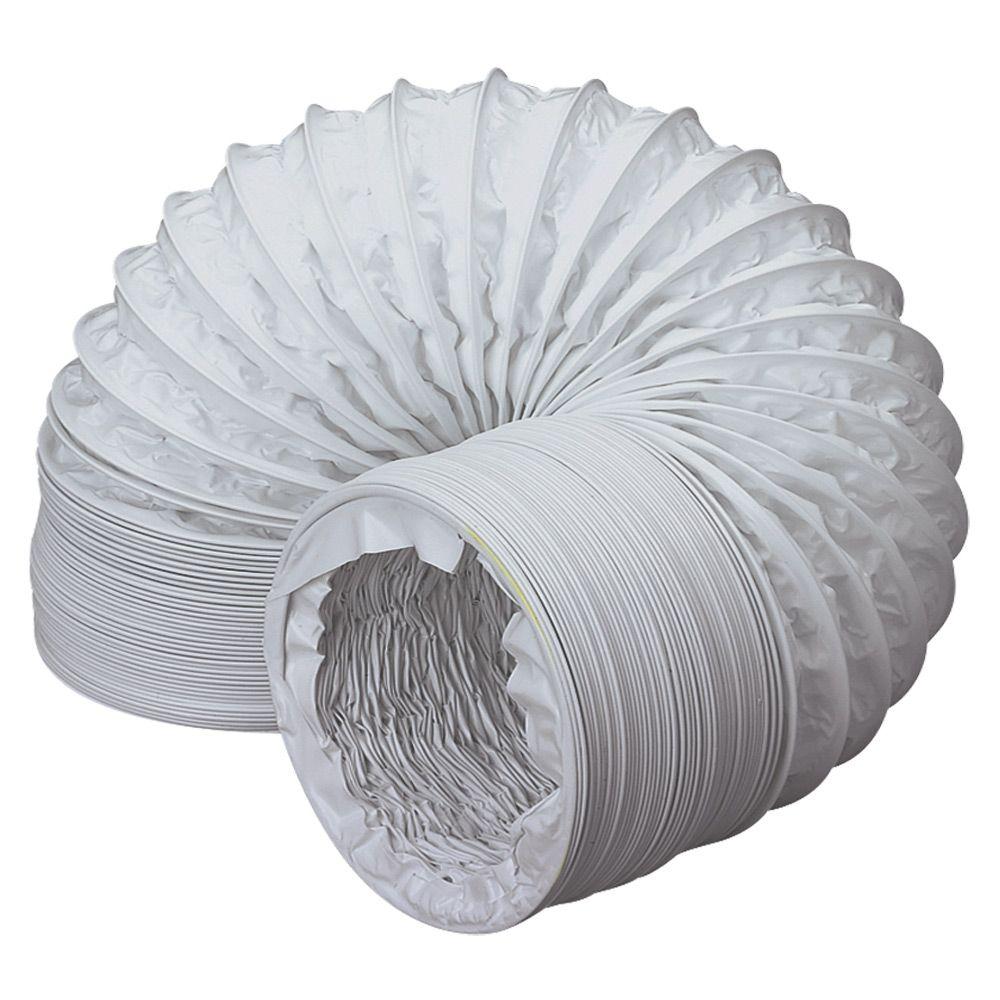 15m PVC 100mm 4 Flexible Ducting Extractor Fans Ventilation