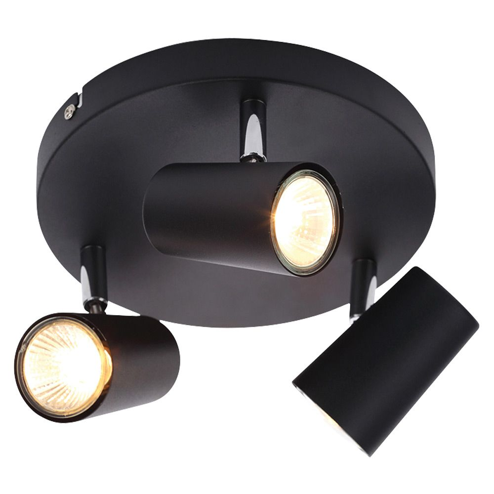 Forum Inl 31776 Blk Gu10 Triple Spotlight Buy Online Now