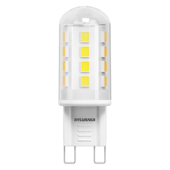 Image of Sylvania 28198 2.1W LED G9 230V Capsule Bulb Warm White 2700K