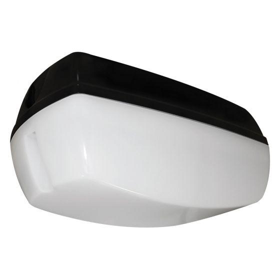 Image of Avenger Outdoor LED Bulkhead 450lm 6W 4200K LED Black Opal IP65