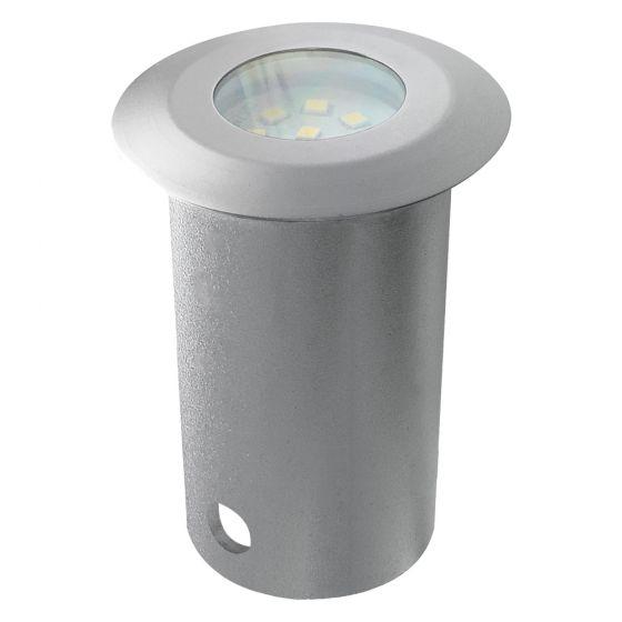 Image of Avenger Outdoor LED Decking Light 111lm 2W 4000K Brushed Satin Steel
