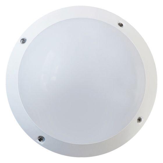 Image of Avenger Outdoor LED Mini Bulkhead 380lm 6W 4200K White Opal IP66