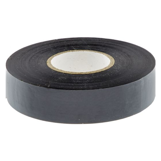 Image of Avenue Electrical Insulating Tape Black PVC 19mm Wide Roll Each