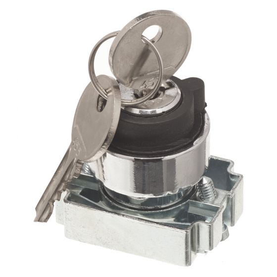 Image of Avenue Key Switch for a Control Station 2 Position Stay Put 22mm