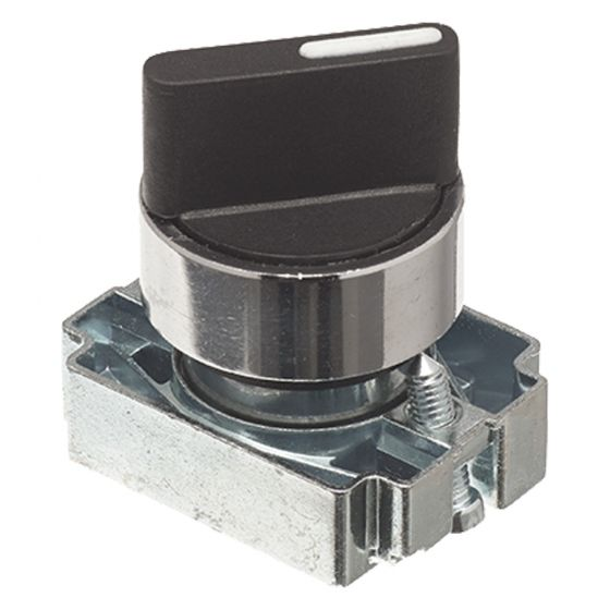 Image of Avenue Selector Switch 2 Position Stay Put for a Control Station 22mm