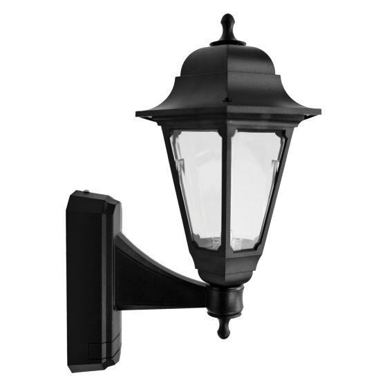 Image of Avenue Outdoor Coach Lantern Wall Light BC (B22) Black