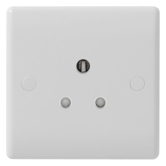 Image of Avenue Contour Unswitched Socket 1 Gang 13A White